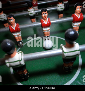 Table football players - Stock Photo