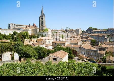 Saint Emilion, Aquitaine, France - Stock Photo