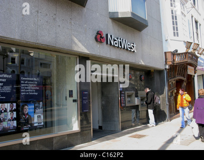 Natwest bank Worthing West Sussex - Stock Photo
