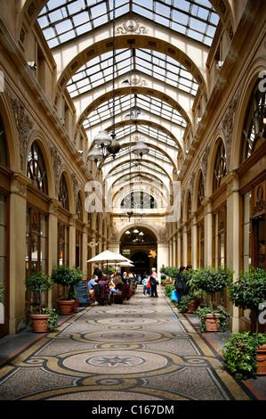 Galerie Vivienne, city centre, Paris, France, Europe - Stock Photo