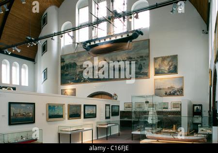 Schifffahrtsmuseum or Maritime Museum in Kiel, Schleswig-Holstein, Germany, Europe - Stock Photo