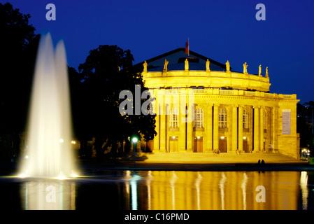 Stuttgart National Theatre, Staatstheater, state opera, Stuttgart, Baden-Wuerttenberg, Germany, Europe - Stock Photo