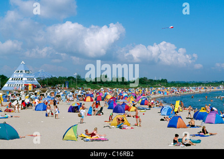 Baltic Sea resort Damp, Schleswig-Holstein, Germany, Europe - Stock Photo