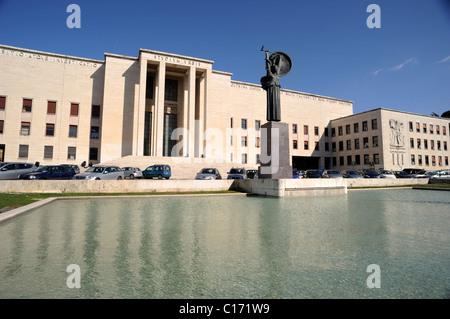 italy, rome, la sapienza university - Stock Photo