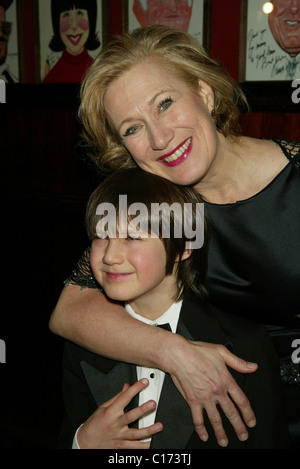 Jayne Atkinson and her son Jeremy Gill Opening Night of ...