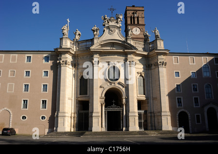 italy, rome, basilica of santa croce in gerusalemme - Stock Photo