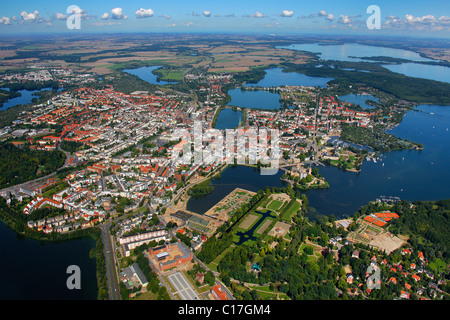 aerial view schwerin lake schwerin fauler lake ostorfer lake stock photo 35202126 alamy. Black Bedroom Furniture Sets. Home Design Ideas