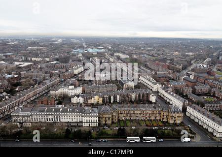 Georgian housing in Liverpool. - Stock Photo