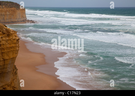 area around Gibson Steps, Port Campbell National Park, along the Great Ocean Road, Victoria, Australia - Stock Photo