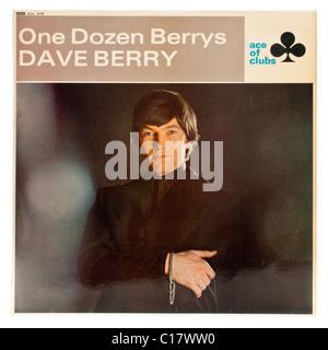 Dave Berry - One Dozen Berrys (1966) vinyl record / LP - Stock Photo