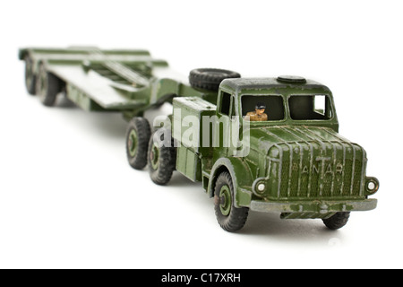Vintage Dinky Supertoyst 'Mighty Antar' 660 tank transporter - Stock Photo