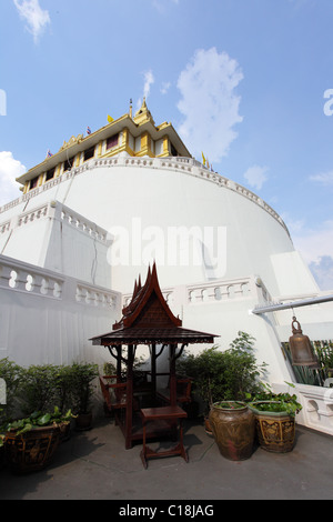 Wat Saket in bangkok, Thailand - Stock Photo