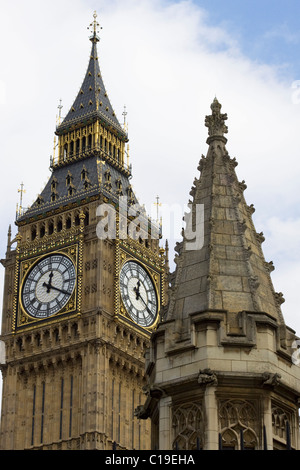 Abstract view of Big Ben - Stock Photo