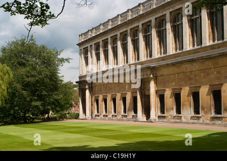 The Wren Library, Trinity College, Cambridge - Stock Photo