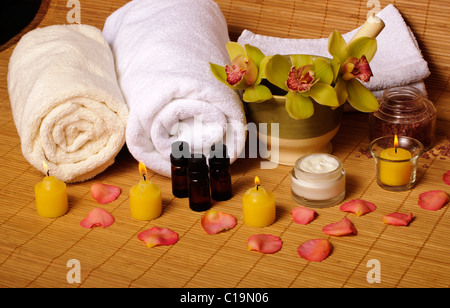 Spa setting - Stock Photo