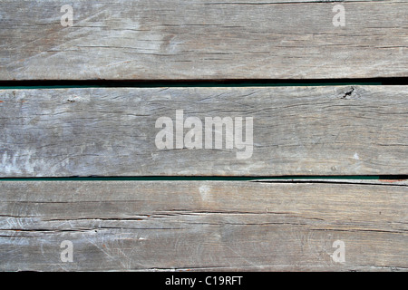 aged tropical pier wood pattern texture - Stock Photo