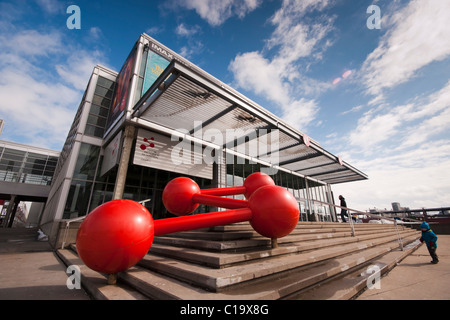 The Montreal Science Centre (French: Centre des sciences de Montréal) is a science museum in Montreal, Quebec, Canada. - Stock Photo