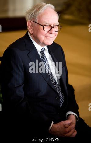 Businessman Warren Buffett. - Stock Photo