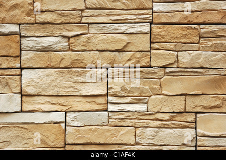 pattern of decorative stone wall background Stock Photo: 104933041 ...