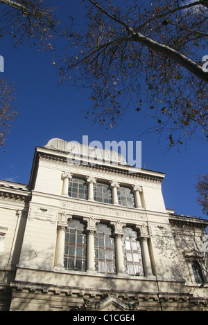 jewish synagogue in rome, italy - Stock Photo