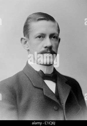 Swedish ophthalmologist Allvar Gullstrand (1862 - 1930) - winner of the Nobel Prize in Physiology or Medicine in - Stock Photo