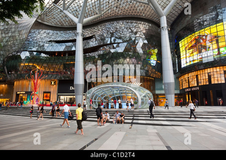 ION Orchard Mall, in the shopping district of Orchard Road, Singapore - Stock Photo