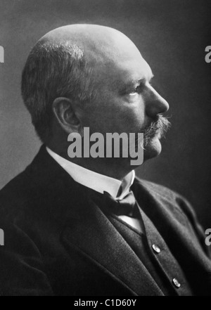 German physiologist and biochemist Albrecht Kossel (1853 - 1927) - winner of the Nobel Prize in Physiology or Medicine - Stock Photo