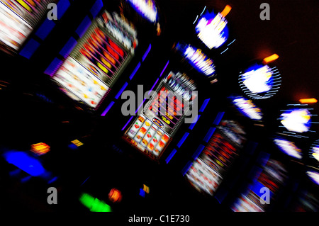 Let's hit the jackpot. Viva Las Vegas!!! - Stock Photo