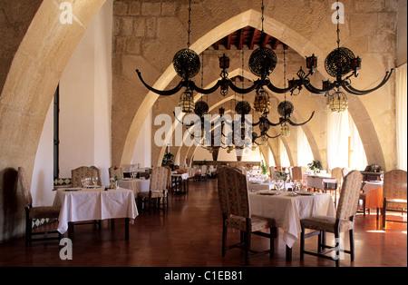 Spain, Andalusia, Jaen region, the Santa Catalina Parador (luxury hotel) - Stock Photo