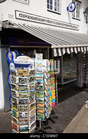 Ysiopfachgardiauwrthybontdrosyrafonddyfrdwyynllangollen, Llangollen, Denbighshire, Wales, United Kingdom - Stock Photo