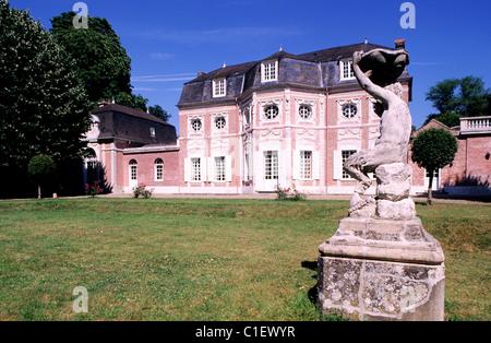 France, Somme, Abbeville, Bagatelle castle - Stock Photo