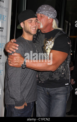Nick Hogan and Hulk Hogan Brooke Hogan celebrates her 21st Birthday at Pure Nightclub inside Caesars Palace Resort - Stock Photo