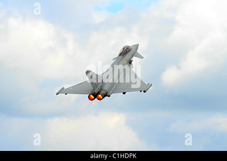 A RAF Eurofighter Typhoon - Stock Photo