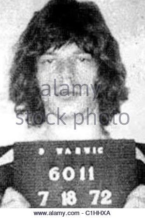 Mick Jagger Mugshot - Stock Photo