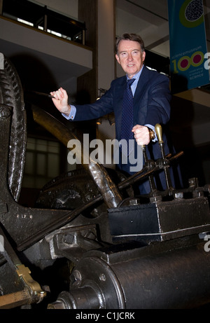 Lord Peter Mandelson 'Centenary Journey' launch at the Science Museum London, England - 09.06.09 Theo/ - Stock Photo