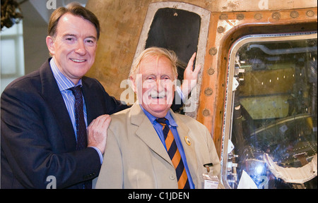Lord Peter Mandelson with inventor Trevor Bayliss 'Centenary Journey' launch at the Science Museum London, England - Stock Photo