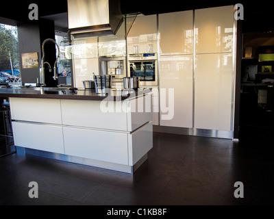 paris france modern kitchen design store display nella cucina home