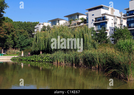 France, Paris, Park of Bercy - Stock Photo