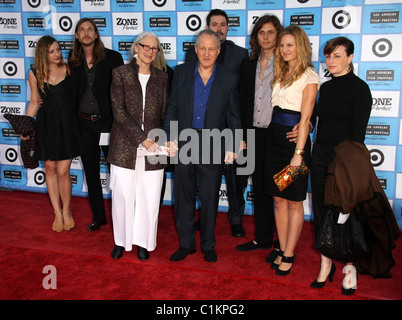 Michael Mann and Family 2009 Los Angeles Film Festival - 'Public Enemies' Premiere held at Mann Village Theatre - Stock Photo