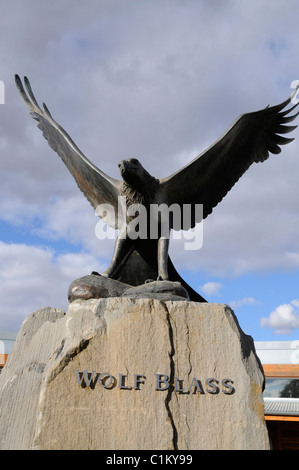The famous Eagle symbol at the Wolf Blass wine estate visitor centre in the Barossa Valley, South Australia - Stock Photo