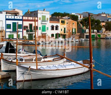 ES - MALLORCA: Old Fishing Village of Porto Colom - Stock Photo
