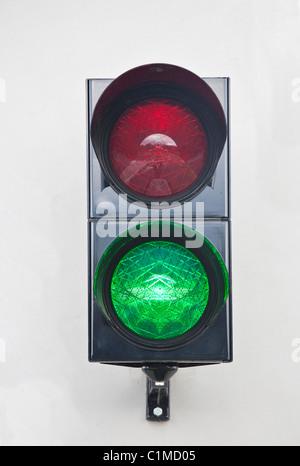 Stop Go Light - Stock Photo