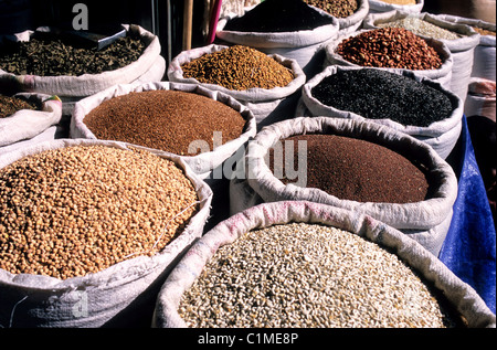 Ethiopia, Addis Ababa, the Mercato, the biggest open air market in Africa - Stock Photo