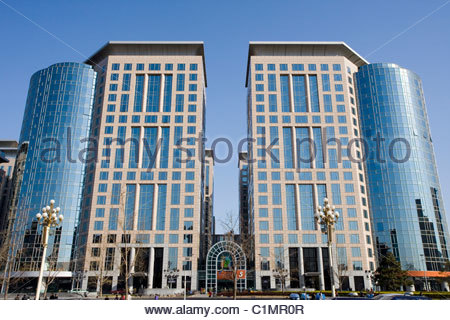Pangu 7 star hotel beijing beijing china - China Beijing Oriental Plaza Complex Facade And