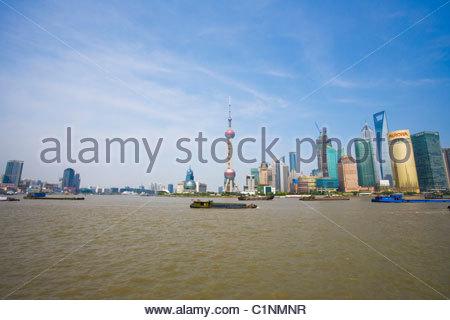 Shanghai, Pudong District, China - Stock Photo