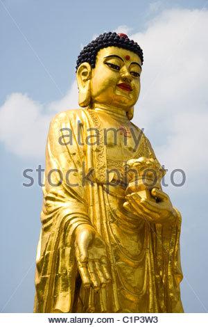 Kek Lok Si Temple, Harbin, Heilongjiang, China - Stock Photo