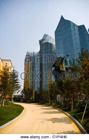 Changchun, Movie Wonderland, Jilin Province, China Stock ...