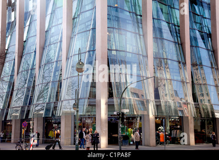 modern peek cloppenburg department store between schildergasse and stock photo 21702623 alamy. Black Bedroom Furniture Sets. Home Design Ideas