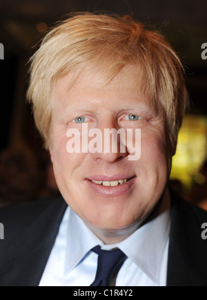 Boris Johnson waxwork at Madame Tussauds London,England - 15.07.09 ( ): - Stock Photo