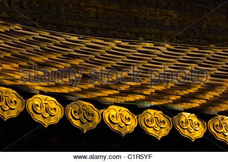 Temple of the Potaraka Doctrine, Chengde, Hebei Province, China - Stock Photo
